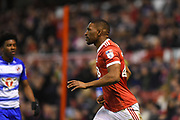 Nottingham Forest defender Tendayi Darikwa (27) during the EFL Sky Bet Championship match between Nottingham Forest and Reading at the City Ground, Nottingham, England on 20 February 2018. Picture by Jon Hobley.