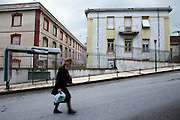 Factory Lanaras-Kirtsis is one of the many closed down factory buildings incide Naousa city