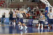 DESCRIZIONE : Varese Ritiro Nazionale Italiana Maschile Preparazione Eurobasket 2007 Allenamento <br /> GIOCATORE : Andrea Bargnani Fabio Di Bella<br /> SQUADRA : Nazionale Italia Uomini <br /> EVENTO : Varese Ritiro Nazionale Italiana Uomini Preparazione Eurobasket 2007 <br /> GARA : <br /> DATA : 17/08/2007 <br /> CATEGORIA : Allenamento<br /> SPORT : Pallacanestro <br /> AUTORE : Agenzia Ciamillo-Castoria/G.Cottini<br /> Galleria : Fip Nazionali 2007 <br /> Fotonotizia : Varese Ritiro Nazionale Italiana Maschile Preparazione Eurobasket 2007 Allenamento<br /> Predefinita :