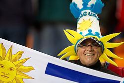 02.07.2010, Soccer City Stadium, Johannesburg, RSA, FIFA WM 2010, Viertelfinale, Uruguay (URU) vs Ghana (GHA) im Bild Fan of Uruguay, EXPA Pictures © 2010, PhotoCredit: EXPA/ Sportida/ Vid Ponikvar, ATTENTION! Slovenia OUT