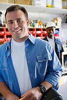 Workmen in a Shop