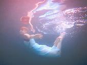2012 White Dress Underwater - Jessie James Hollywood