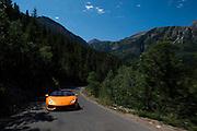 July 28, 2016 - Lamborghini Huracan filming near Park City, Utah