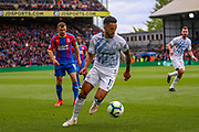 Everton striker Theo Walcott (11) during the Premier League match between Crystal Palace and Everton at Selhurst Park, London, England on 27 April 2019.