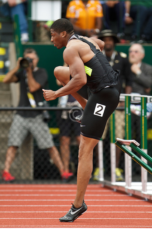 2012 USA Track & Field Olympic Trials: Ash, mens 110 hurdles,