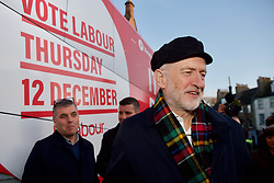 Labour leader Jeremy Corbyn stopover in Linlithgow during a visit to Scotland. Pic: Terry Murden @edinburghelitemedia