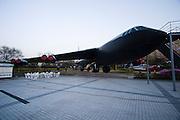 Samgakji. War Memorial and Museum. B-52 bomber.