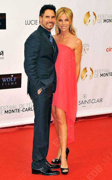10.JUNE.2012. MONACO<br /> <br /> DON DIAMONT AND CINDY AMBUEHI ATTEND THE OPENING CEREMONY OF THE 52ND MONTE CARLO TELEVISION FESTIVAL HELD AT THE GRAMALDI FORUM.  <br /> <br /> BYLINE: EDBIMAGEARCHIVE.CO.UK<br /> <br /> *THIS IMAGE IS STRICTLY FOR UK NEWSPAPERS AND MAGAZINES ONLY*<br /> *FOR WORLD WIDE SALES AND WEB USE PLEASE CONTACT EDBIMAGEARCHIVE - 0208 954 5968*