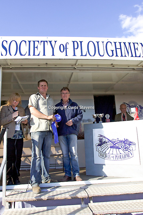 World and British National Ploughing Championships 2016  Prizegiving
