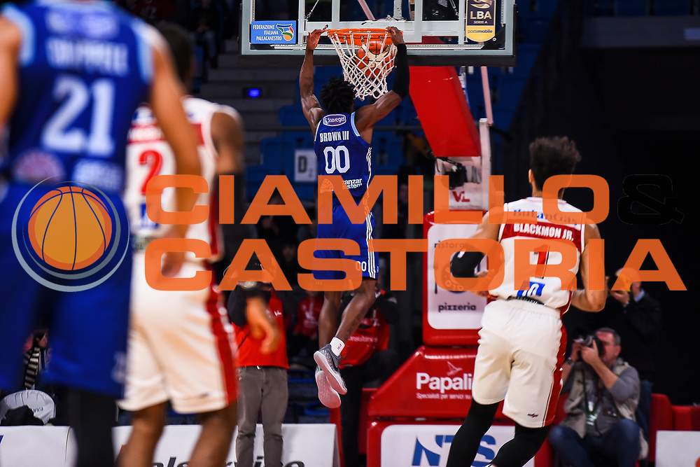 Brown III Jhon<br /> VL Pesaro - Happy Casa Brindisi<br /> Lega Basket Serie A 2018/2019<br /> Pesaro 26/01/2019<br /> M.Ciaramicoli | Ciamillo Castoria
