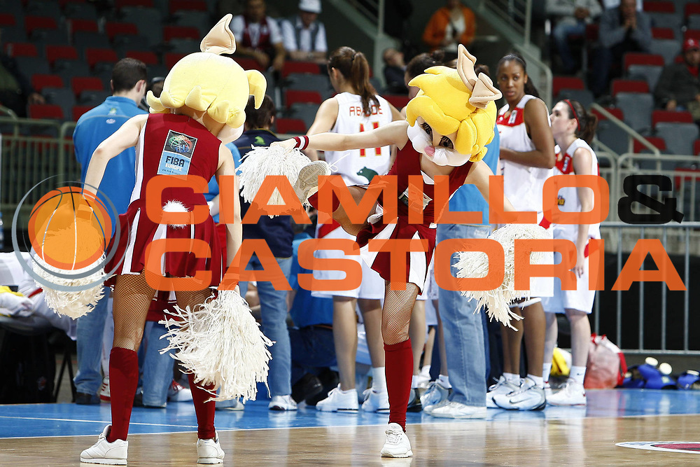 DESCRIZIONE : Riga Latvia Lettonia Eurobasket Women 2009 Qualifying Round Spagna Polonia Spain Poland<br /> GIOCATORE : Mascotte<br /> SQUADRA : <br /> EVENTO : Eurobasket Women 2009 Campionati Europei Donne 2009 <br /> GARA : Spagna Polonia Spain Poland<br /> DATA : 13/06/2009 <br /> CATEGORIA : <br /> SPORT : Pallacanestro <br /> AUTORE : Agenzia Ciamillo-Castoria/E.Castoria<br /> Galleria : Eurobasket Women 2009 <br /> Fotonotizia : Riga Latvia Lettonia Eurobasket Women 2009 Qualifying Round Spagna Polonia Spain Poland<br /> Predefinita :