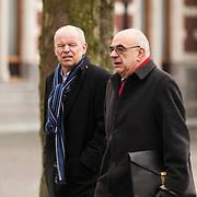 NLD/Utrecht/20140215 - Herdenkingsdienst Els Borst in de Domkerk, Willem Vermeend en Jan Pronk