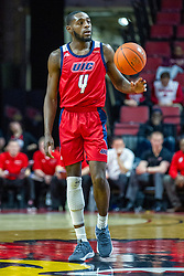 NORMAL, IL - December 18: Tarkus Ferguson during a college basketball game between the ISU Redbirds and the UIC Flames on December 18 2019 at Redbird Arena in Normal, IL. (Photo by Alan Look)