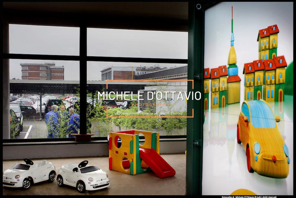 Fiat Mirafiori asilo nido aziendale all'interno dello stabilimento