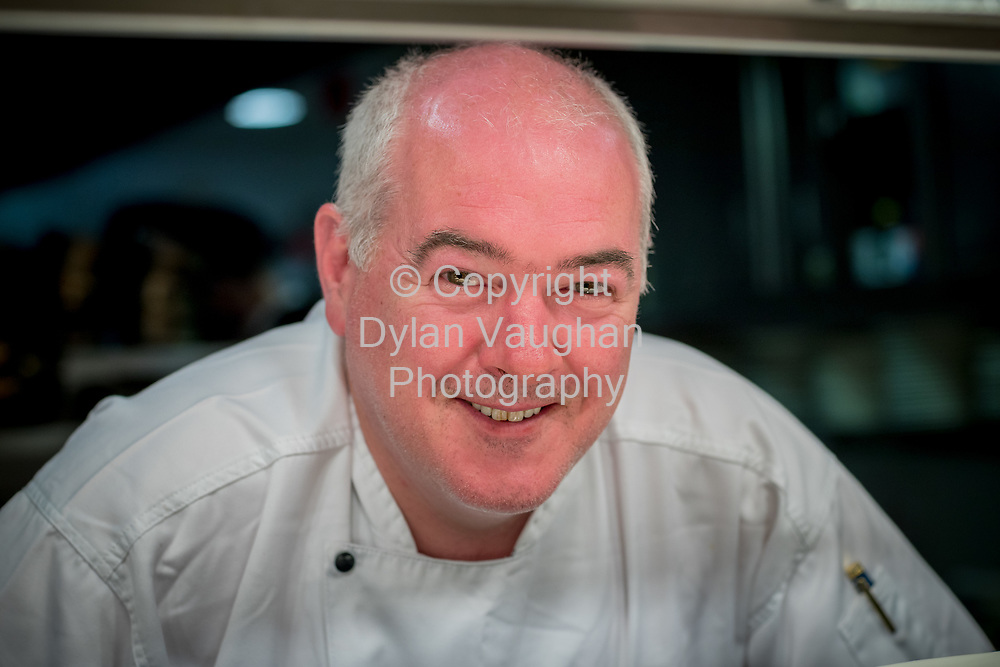 11-4-17<br /> <br /> Chef Garret Byrne of Campagne in Kilkenny.<br /> Picture Dylan Vaughan.