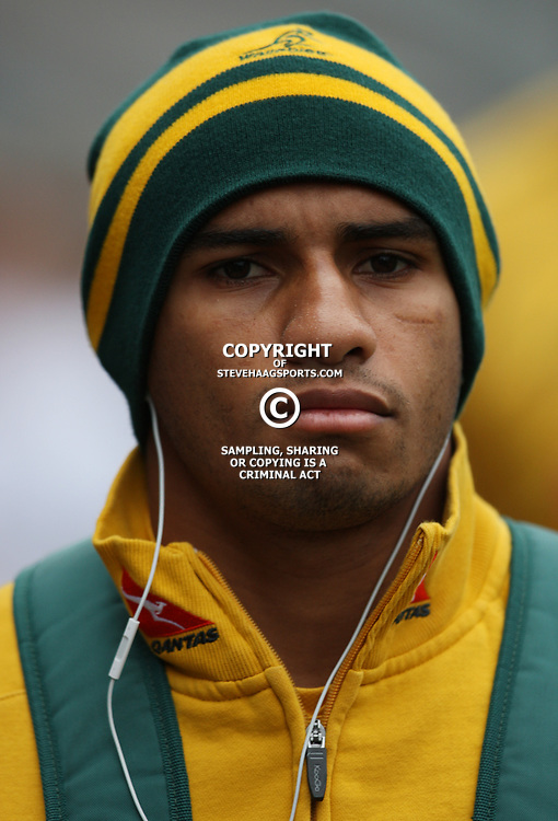 DURBAN, SOUTH AFRICA - AUGUST 13,  Will Genia during the Castle Lager Tri Nations match between South Africa and Australia at Mr Price Kings Park Stadium on August 13, 2011 in Durban, South Africa<br /> Photo by Steve Haag / Gallo Images