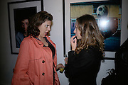 Jess Flynn and Anita Tunstall, Exhibition of photographs by NME photographer Lawrence Watson. Studio 2. Redchurch St. London. 26 April 2007.  -DO NOT ARCHIVE-© Copyright Photograph by Dafydd Jones. 248 Clapham Rd. London SW9 0PZ. Tel 0207 820 0771. www.dafjones.com.