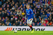 Steven Davis (#10) of Rangers FC during the Group G Europa League match between Rangers FC and FC Porto at Ibrox Stadium, Glasgow, Scotland on 7 November 2019.