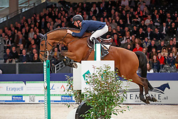 Bles Bart, NED, Heathrow<br /> KWPN Stallionshow - 's Hertogenbosch 2018<br /> © Hippo Foto - Dirk Caremans<br /> 01/02/2018