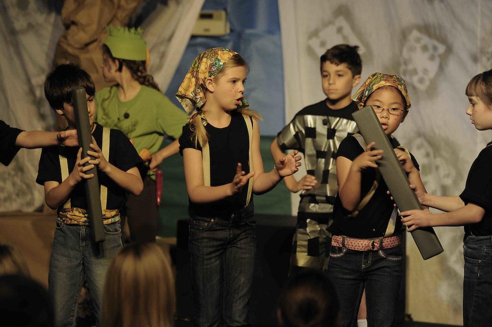 WASHINGTON (2010-2011) -- River School kids.  Photo by Johnny Bivera