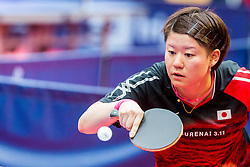 (JPN) MIO Sayuri in action during 15th Slovenia Open - Thermana Lasko 2018 Table Tennis for the Disabled, on May 10, 2018 in Dvorana Tri Lilije, Lasko, Slovenia. Photo by Ziga Zupan / Sportida