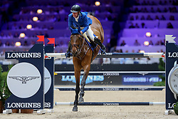 Bles Bart, NED, Israel vd Dennehoeve<br /> LONGINES FEI Jumping World Cup™ - Lyon 2019<br /> © Hippo Foto - Julien Counet<br /> 03/11/2019