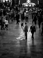 Romance at Grand Central, New York City