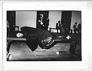 Sleeping at Trinity May Ball, Cambridge. 15 June 1981.