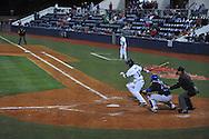 Ole MIss' Tanner Mathis bats vs. Kentucky at Oxford-University Stadium in Oxford, Miss. on Thursday, April 25, 2013. Kentucky won 3-2.