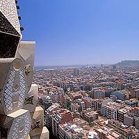 Iglesia de La Sagrada Familia, Barcelona, España