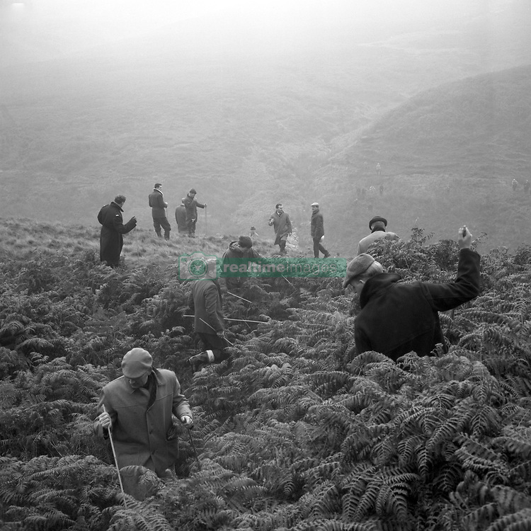 Police search Saddleworth Moor, near Woodhead, for the bodies of the victims of the Moors Murderers. At the weekend, the body of a 10-year-old girl, who had been missing since last Christmas, was discovered in a shallow grave.