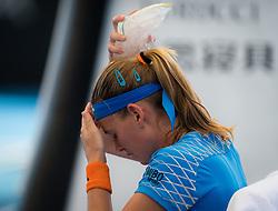 January 2, 2019 - Brisbane, AUSTRALIA - Marie Bouzkova of the Czech Republic in action during her second-round match at the 2019 Brisbane International WTA Premier tennis tournament (Credit Image: © AFP7 via ZUMA Wire)