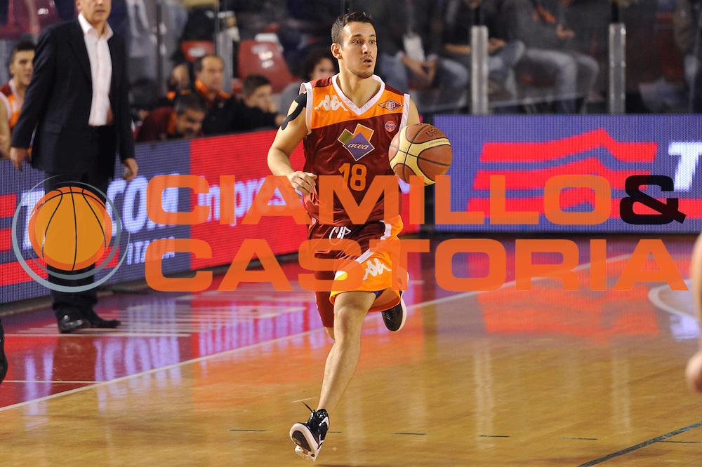 DESCRIZIONE : Roma Lega A 2011-12 Acea Virtus Roma Umana Reyer Venezia<br /> GIOCATORE : Antonio Maestranzi<br /> CATEGORIA : palleggio<br /> SQUADRA : Acea Virtus Roma<br /> EVENTO : Campionato Lega A 2011-2012<br /> GARA : Acea Virtus Roma Umana Reyer Venezia<br /> DATA : 30/12/2011<br /> SPORT : Pallacanestro<br /> AUTORE : Agenzia Ciamillo-Castoria/GiulioCiamillo<br /> Galleria : Lega Basket A 2011-2012<br /> Fotonotizia : Roma Lega A 2011-12 Acea Virtus Roma Umana Reyer Venezia<br /> Predefinita :