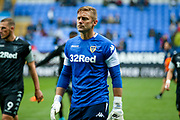 Leeds United goalkeeper Robert Green (1) warming up  during the EFL Sky Bet Championship match between Bolton Wanderers and Leeds United at the Macron Stadium, Bolton, England on 6 August 2017. Photo by Simon Davies.