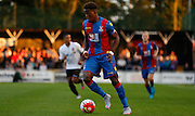 Wilf Zaha on the ball during the Pre-Season Friendly match between Bromley and Crystal Palace at the Courage Stadium, Bromley, United Kingdom on 30 July 2015. Photo by Michael Hulf.