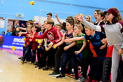 Chuck A Duck - Photo mandatory by-line: Ryan Hiscott/JMP - 17/01/2020 - BASKETBALL - SGS Wise Arena - Bristol, England - Bristol Flyers v London City Royals - British Basketball League Championship