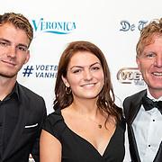 NLD/Hilversum/20190902 - Voetballer van het jaar gala 2019, Alfons Groenendijk met ..........