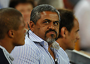 Chippie Solomon (Stormers Manager) watches the time count down during action from Round 11 of the Super 14 Rugby Union match between the Queensland Reds and the South African Stormers played at Suncorp Stadium on Friday 23 April 2010 ~ ©Image Aura Images.com.au ~ Conditions of Use: This image is intended for Editorial use as news and commentry in print, electronic and online media ~ For any alternative use please contact AURA Images.com.au