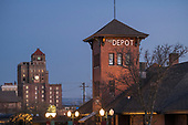 The depot selected