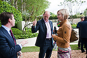 DANIEL BRENNAN; LAWRENCE DALLAGLIO; ALICE DALLAGLIO, Press and VIP viewing day. Chelsea Flower show, Royal Hospital Grounds. Chelsea. London. 18 May 2009