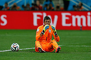 Fernando Muslera of Uruguay during the 2014 FIFA World Cup match at Arena Corinthians, Sao Paulo<br /> Picture by Andrew Tobin/Focus Images Ltd +44 7710 761829<br /> 19/06/2014