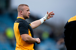 Wasps warm up prior to kick off - Mandatory by-line: Ryan Hiscott/JMP - 30/11/2019 - RUGBY - Sandy Park - Exeter, England - Exeter Chiefs v Wasps - Gallagher Premiership Rugby