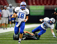 Valle Catholic HS vs Westran HS football