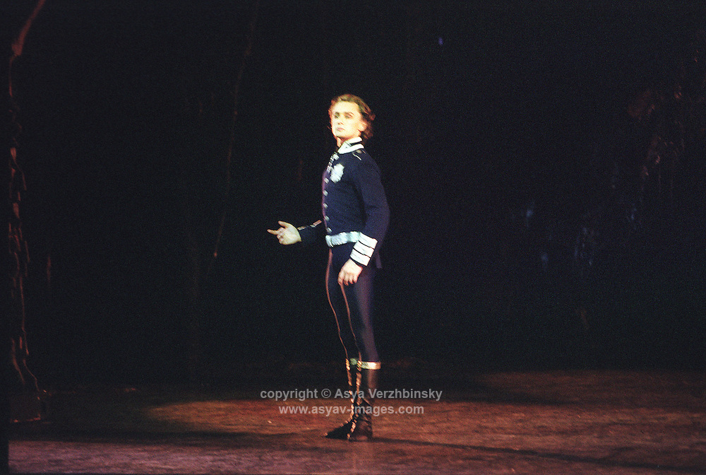 Ivan Putrov as Siegried in Swan Lake. Royal Ballet