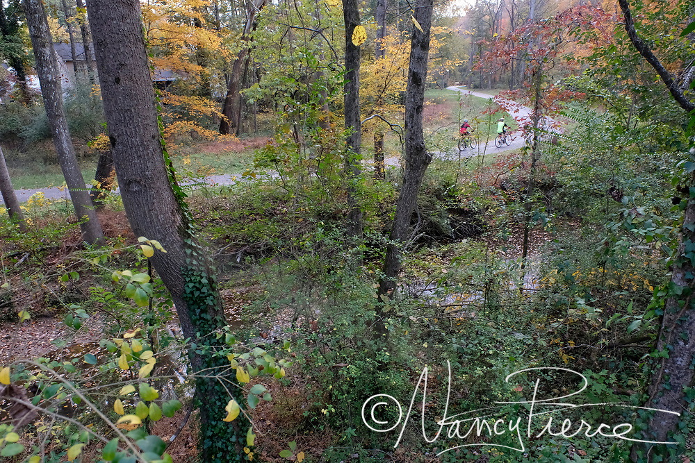 Campbell Creek Greenway, new section in 2017 (west of Harris Blvd)