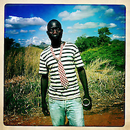 Tie and stripes, The Mozambique Diary, Maua District, Mozambique