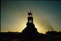 The Jose Marti monument at sunset in Havana, Cuba. (Photo © Jock Fistick)