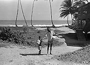 I byn Blanchiseusse på Trinidad 1970 Blanchisseuse på Trinidad i Västindien