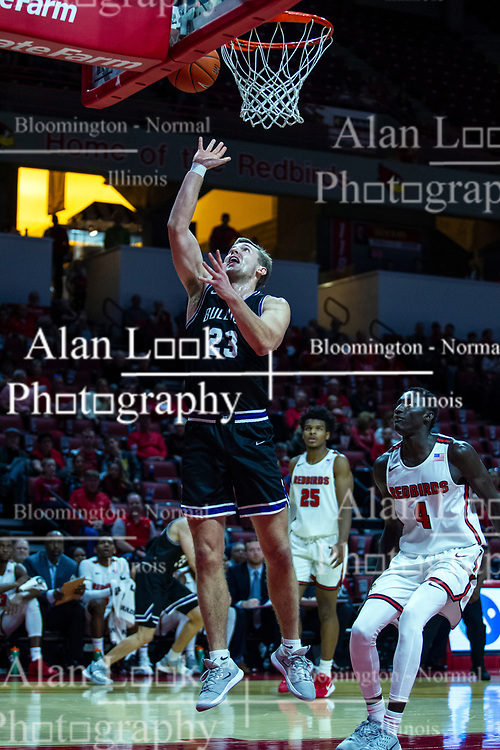 NORMAL, IL - October 23: Mark Rogers during a college basketball game between the ISU Redbirds and the Truman State Bulldogs on October 23 2019 at Redbird Arena in Normal, IL. (Photo by Alan Look)