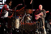 """Photos of guitarist John Scofield performing at City Parks Foundation's SummerStage gala event, """"The Music of Jimi Hendrix"""", at Rumsey Playfield in Central Park, NYC. June 5, 2012. Copyright © 2012 Matthew Eisman. All Rights Reserved."""